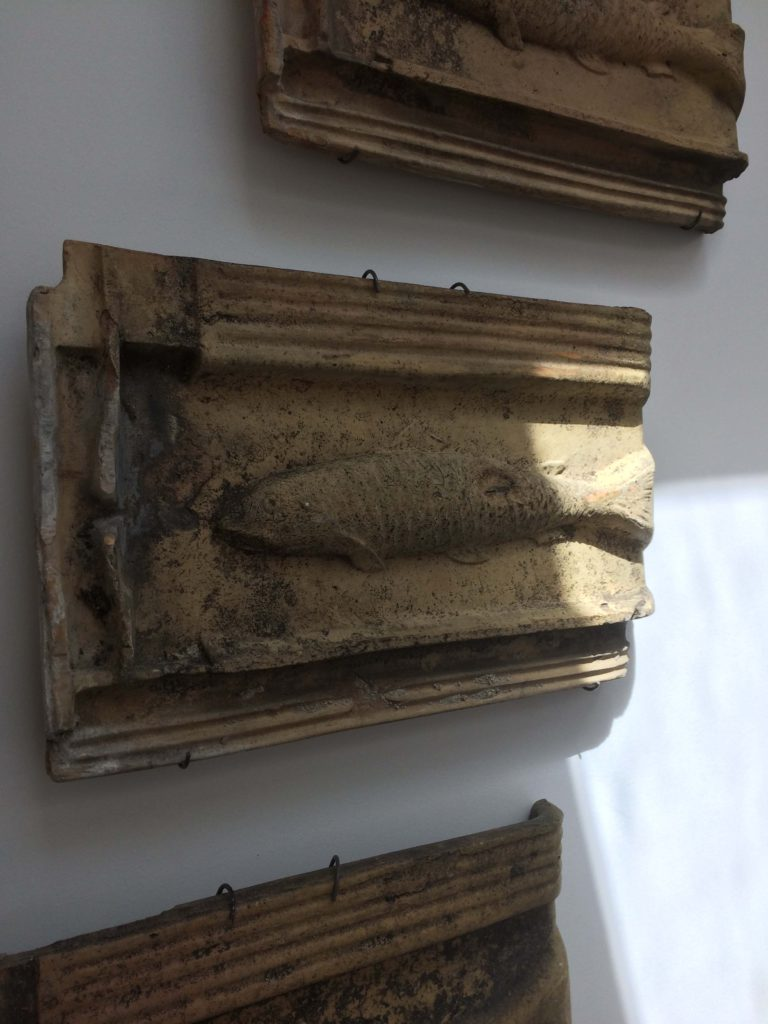 Hanging Antique Tiles